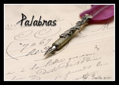 PALABRAS NO DICHAS