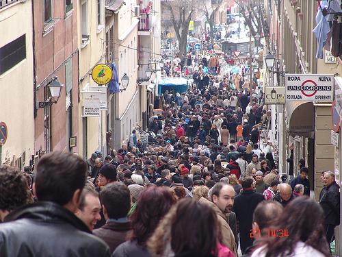 En el rastrillo de Madrid (febrero-05)